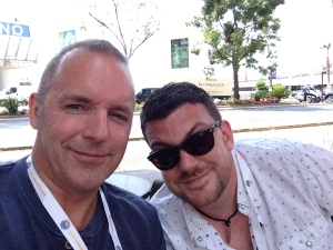Me and Phil in Cannes